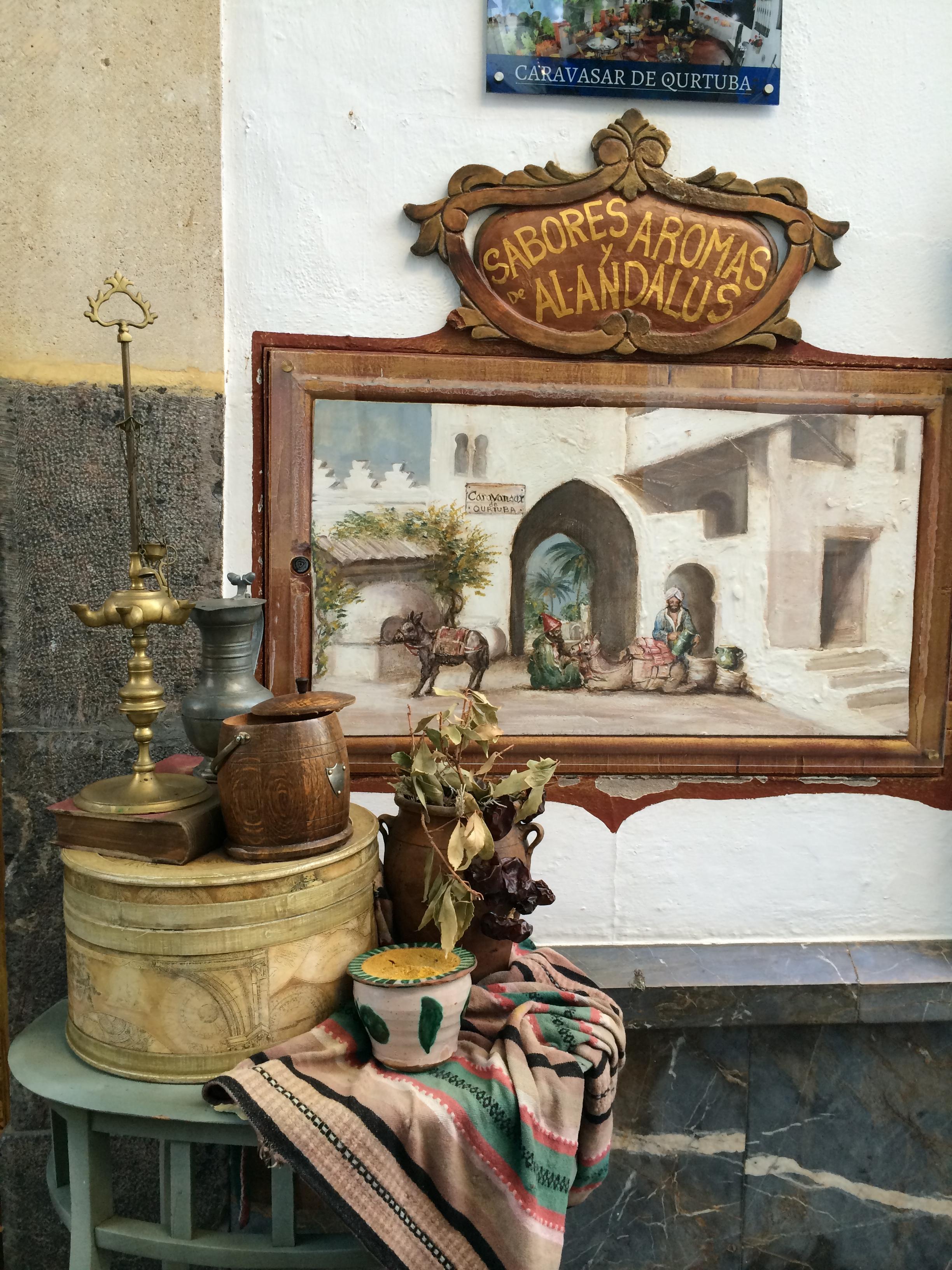 caravasar qurtuba. Córdoba. notas con estilo